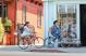 Велосипед Giant Momentum iNeed Street (2021) Blue Gray 2