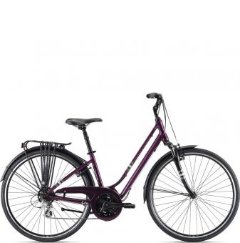 Велосипед Giant Liv Flourish FS 2 (2021) Chameleon Plum