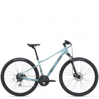 Велосипед Giant Liv Rove 3 DD Disc (2021) Ocean Cube