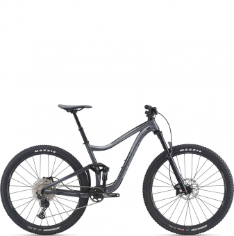 Велосипед Giant Trance 29 3 (2021) Black Ti/Black