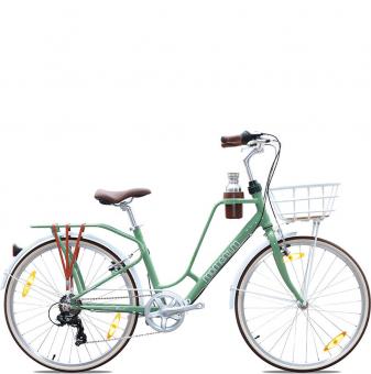 Велосипед Giant Momentum iNeed Latte 26 (2021) Greyish Green