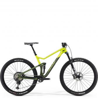 Велосипед Merida One-Twenty 9.7000 (2021) SilkGreen/Lime