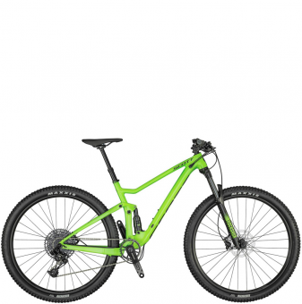 Велосипед Scott Spark 970 (2021) Smith Green
