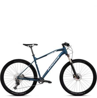 Велосипед Kross Level 5.0 (2021) Blue/Silver Glossy