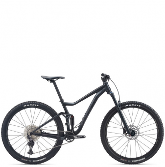 Велосипед Giant Stance 29 2 (2021) Gloss Gunmetal Black