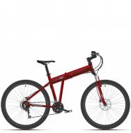 Велосипед Stark Cobra 26.2 D (2021) красный/серый