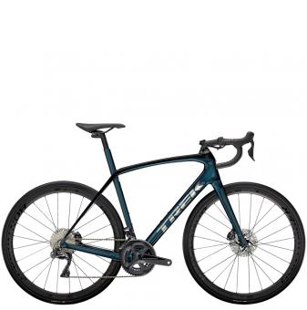 Велосипед Trek Domane SL 7 (2021) Dark Aquatic/Trek Black