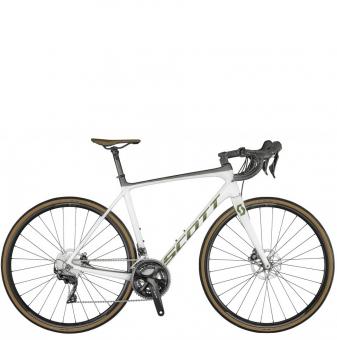 Велосипед Scott Addict 20 Disc (2021) Pearl White