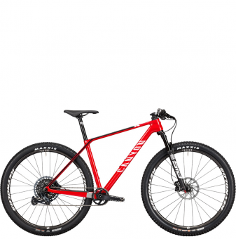 Велосипед Canyon Exceed CF 7 (2021) Rapid Red