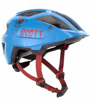 Детский велосипедный шлем Scott Spunto Kid atlantic blue