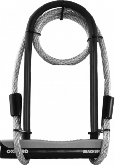 Замок Oxford Shackle 12 Duo U lock & Cable