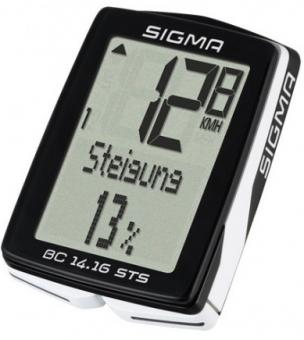 Велокомпьютер Sigma BC 14.16 STS Topline