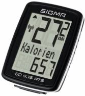 Велокомпьютер Sigma BC 9.16 ATS 09162 9 функций беспроводной