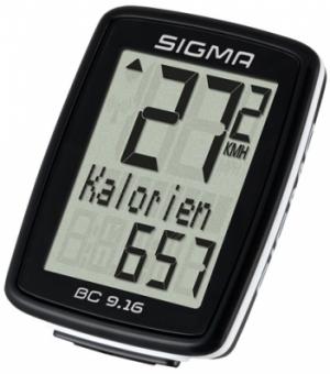 Велокомпьютер Sigma BC 9.16 09160 9 функций проводной