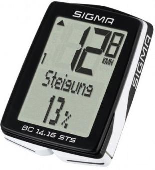 Велокомпьютер Sigma BC 14.16 01416 14 функций проводной