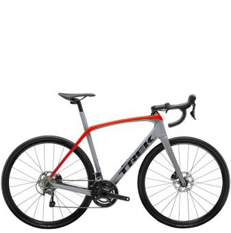 Велосипед Trek Domane SL 4 (2021) Slate/Radioactive Red