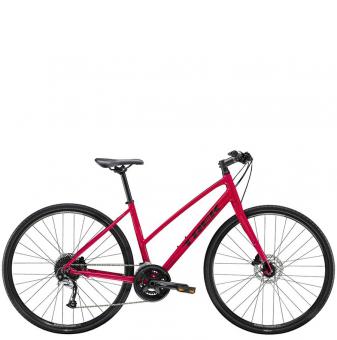 Велосипед Trek FX 3 Disc Stagger (2021) Magenta