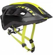 Шлем Scott Supra (CE) (2021) black/radium yellow fade