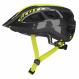 Шлем Scott Supra (CE) (2021) black/radium yellow fade 1