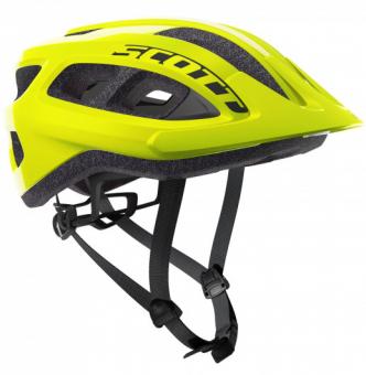 Шлем Scott Supra (CE) (2021) yellow fluorescent
