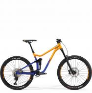 Велосипед Merida One-Sixty 400 (2021) orange/blue