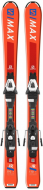 Горные лыжи Salomon E S/Max JR XS + крепления C5 (2019)