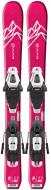 Горные лыжи Salomon E QST LUX JR XS + крепления C5 GW (2020)