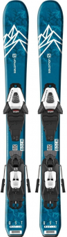 Горные лыжи Salomon E QST MAX Jr XS + C5 GW (2020)