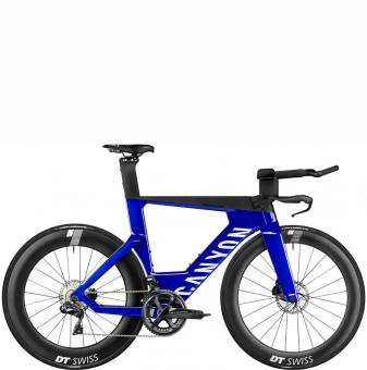 Велосипед Canyon Speedmax CF SLX 8 Disc Di2 (2021) New Blue