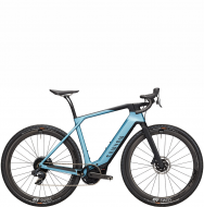 Электровелосипед Canyon Grail:ON CF 8 eTap (2021) Discovery Blue