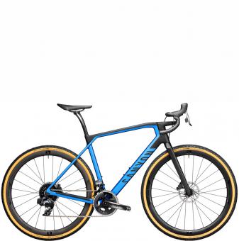 Велосипед гравел Canyon Grail CF SL 8 eTap (2021) Discovery Blue