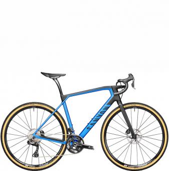 Велосипед гравел Canyon Grail CF SL 8 Di2 (2021) Discovery Blue