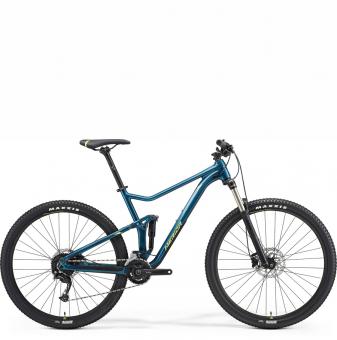 Велосипед Merida One-Twenty RC 9.300 (2021)Teal-Blue/Lime