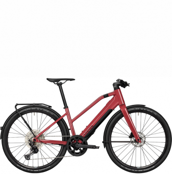 Электровелосипед Canyon Commuter:ON 7 WMN (2021) Cherry