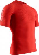 Футболка X-Bionic Effektor 4.0 Run Shirt SH SL Sunset Orange/Pearl Grey Men (2021)