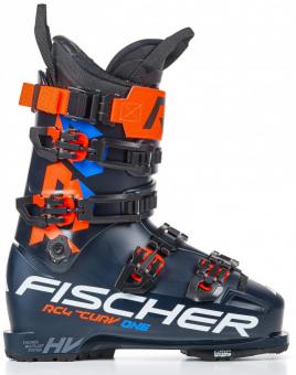 Ботинки горнолыжные Fischer RC4 The Curv One 130 Vacuum Walk darkblue/darkblue (2021)