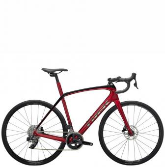 Велосипед Trek Domane SL 6 eTap (2022) Crimson/Trek Black