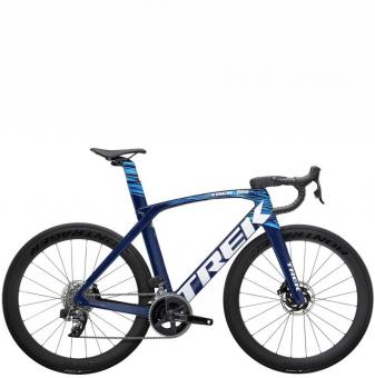 Велосипед Trek Madone SLR 6 eTap (2022) Navy Carbon Smoke/Blue