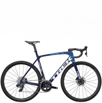 Велосипед Trek Émonda SLR 6 eTap (2022) Navy Carbon Smoke/Blue