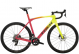 Велосипед Trek Domane SLR 6 eTap (2022) Radioactive Coral to Yellow Fade 1