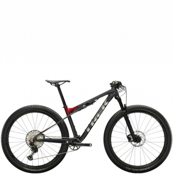 Велосипед Trek Supercaliber 9.7 (2022) Lithium Grey/Crimson