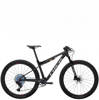 Велосипед Trek Supercaliber 9.9 XX1 AXS (2022) Matte Raw Carbon/Gloss Trek Black