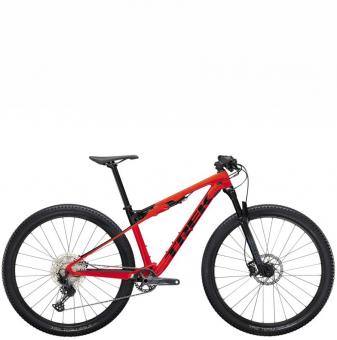 Велосипед Trek Supercaliber 9.6 (2022) Radioactive Red /Trek Black