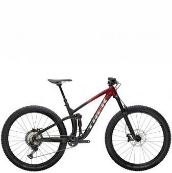 Велосипед Trek Slash 8 XT (2022) Rage Red to Dnister Black Fade