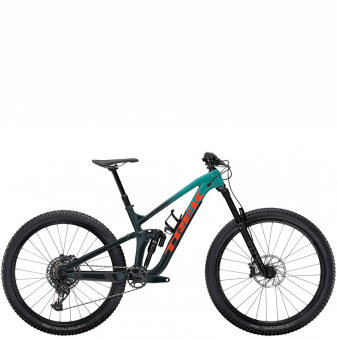 Велосипед Trek Slash 8 (2022) Teal to Nautical Navy Fade