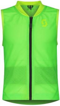 Горнолыжная защита Scott AirFlex JR Vest Protector high viz green (2021)