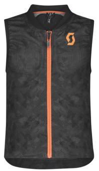 Горнолыжная защита Scott AirFlex JR Vest Protector dark grey/pumpkin orange (2021)
