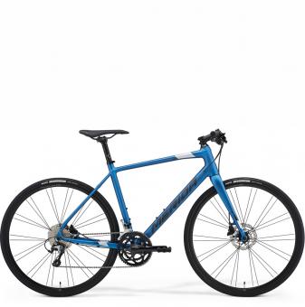 Велосипед Merida Speeder 300 (2021) SilkBlue/DarkSilver