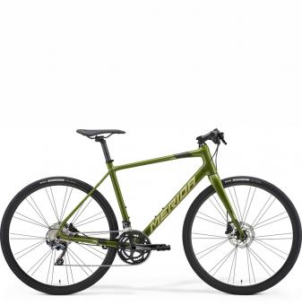 Велосипед Merida Speeder 500 (2021) GlossyMossGreen/MattGreen