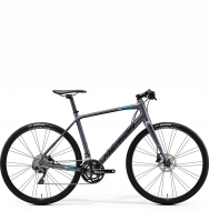 Велосипед Merida Speeder 500 (2021) MattAnthracite/Blue/Black